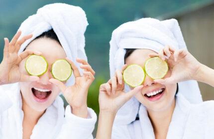 Limonla cilt bakımı nasıl yapılır?